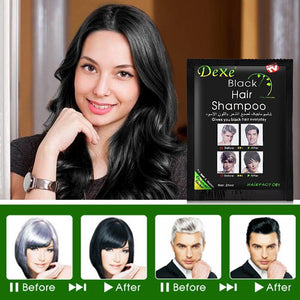 All Natural Herbal Hair Coloring Shampoo-10 Pack - SSStyleN.com