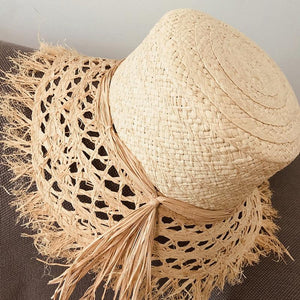 New 2020 Spring Summer Women Brand Raffia Hats -Great Travel Beach Straw Hats - SSStyleN.com