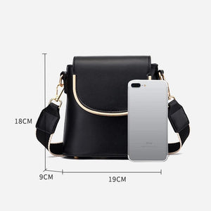 Retro Design Women Bucket Messenger Bag /Mini Crossbody Shoulder Purse - SSStyleN.com