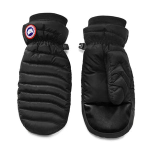 Canada Goose Women's Lightweight Mitts Black Elastic Drawcord at the Cuffs Medium Size 5171L - SSStyleN.com