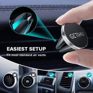 Car Phone Holder Magnetic Air Vent Mount Mobile Smartphone Stand Magnet Support Cell in Car GPS For iPhone XS Max Samsung - SSStyleN.com