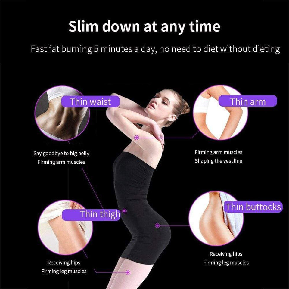 Body Massager Device Electric Slimming Machine Massage Anti Cellulite Physical Therapy Fat Burner Weight Loss Shaper Belt - SSStyleN.com