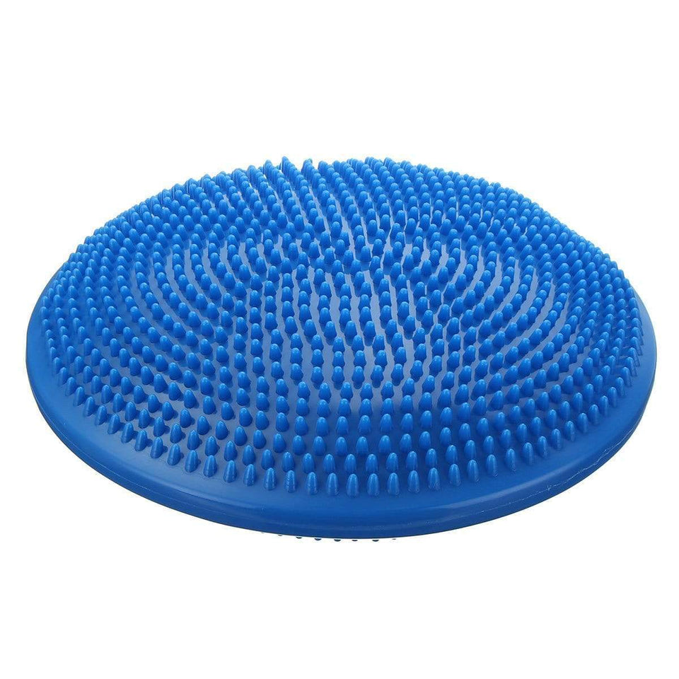 Inflatable Yoga Massage Ball Durable Universal Sports Gym Fitness Yoga Wobble Stability Balance Disc Massage Cushion Mat - SSStyleN.com
