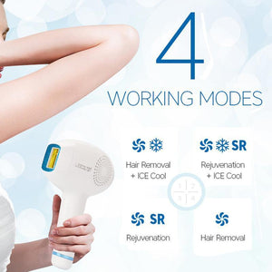 Lescolton 4in1 IPL Hair Removal Cold Epilator T011C Permanent Laser for Home Bikini Trimmer Electric Photorejuvenation Depilator - SSStyleN.com