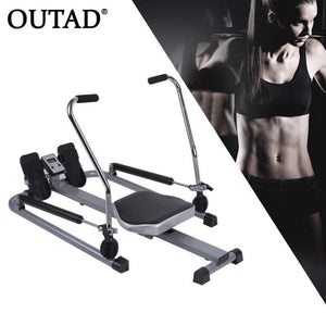 Abdominal Rowing Device Belly Trainer Tool Fitness Exerciser Weight Loss - SSStyleN.com