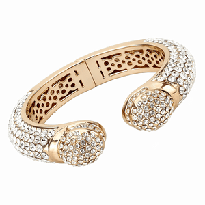 Bangle Flash Rose Gold Women Top Grade Crystal - SSStyleN.com