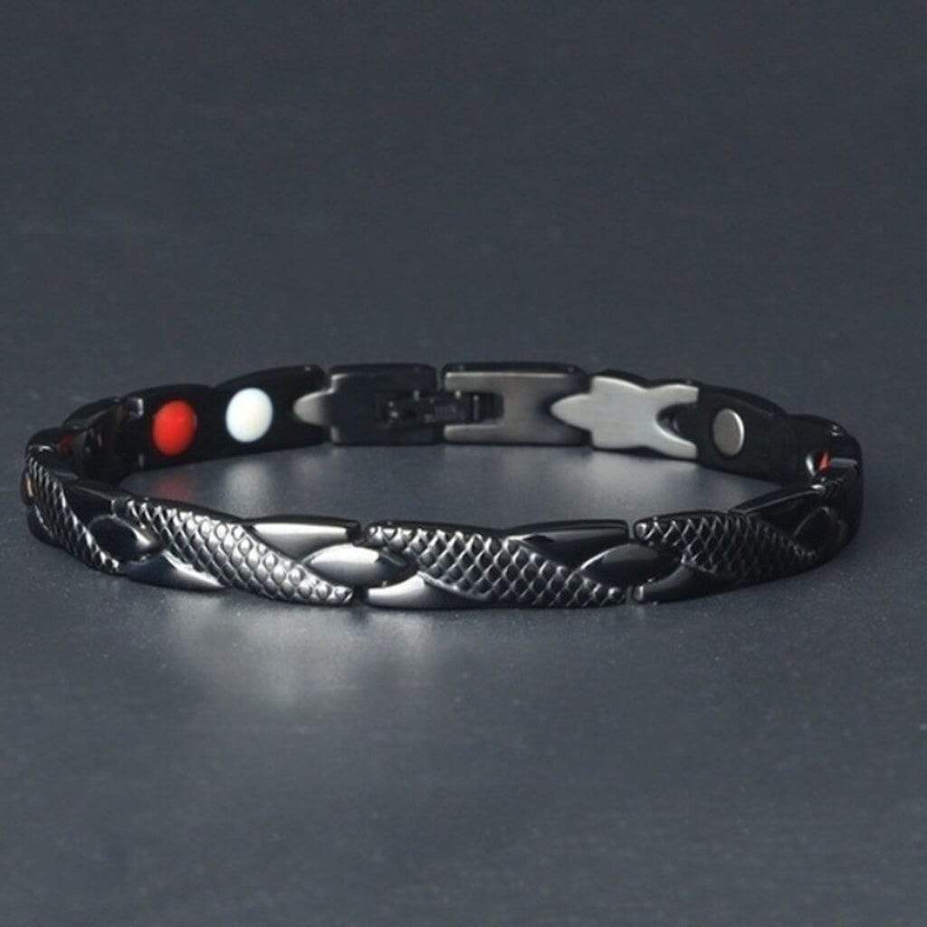 Magnetic Bracelet Health Care Slimming Bangle Bracelets 4 Colors Twisted Link Chain Unisex Weight Loss Chains - SSStyleN.com