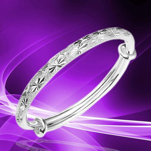 New Design Adjustable Bracelet for Women Jewelry Silver Elegant Womens Charm Bangle Bracelet Vintage Ladies Gift - SSStyleN.com