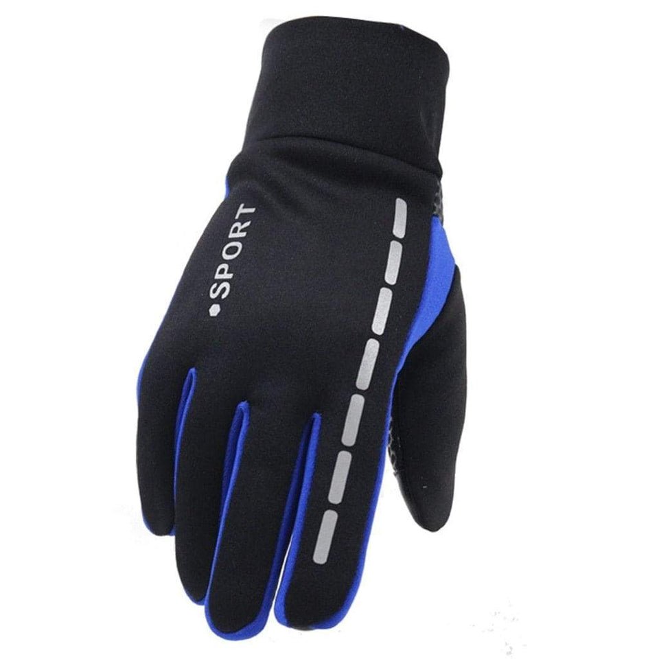 Mens Winter Therm With Anti-Slip Elastic Cuff Thermal Soft Gloves Man waterproof Sports gloves Driving Cycling Warm Gloves #L10 - SSStyleN.com