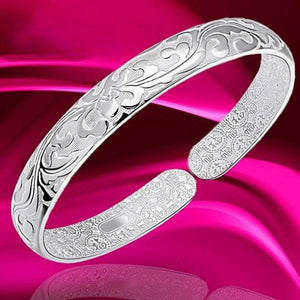 Elegant Open Gift Cuff Plated Fashion Daily Wedding Jewelry Exquisite Women Bangle - SSStyleN.com