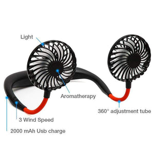 USB Portable Neck Fan - SSStyleN.com