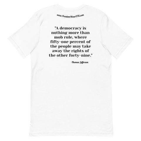Image of Democratic Socialism Tee Shirt-Tee Shirt-Freedom Wear 1776