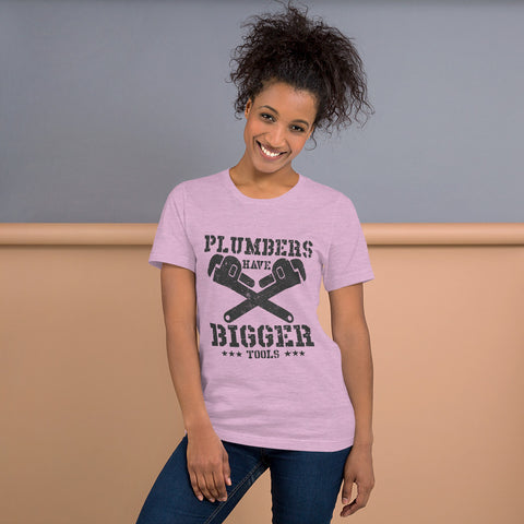 Plumbers Have Bigger Tools Tee Shirt-Tee Shirt-Freedom Wear 1776