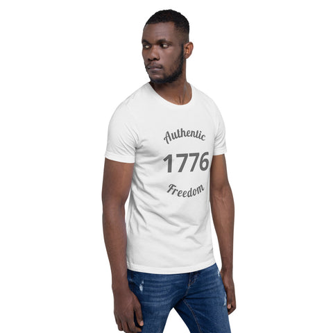 Image of Authentic 1776 Tee Shirt-Tee Shirt-Freedom Wear 1776