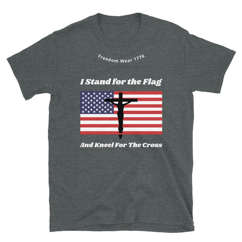 Image of Stand For The Flag Tee Shirt-Tee Shirt-Freedom Wear 1776
