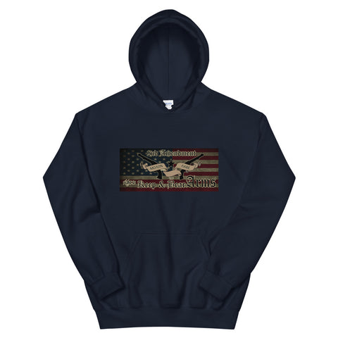 Image of Second Amendment Moaon Aabe Hoodie-Freedom Wear 1776