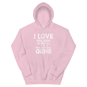 One Man Several Guns Hoodie-Hoodie-Freedom Wear 1776