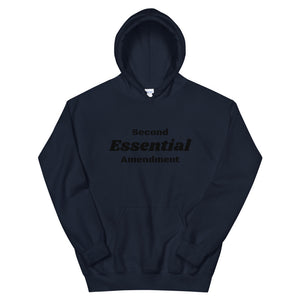 Second Amendment Essential Hoodie-Freedom Wear 1776