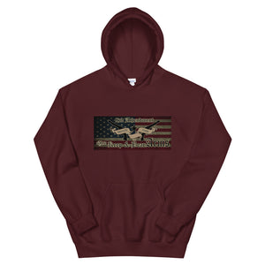 Second Amendment Moaon Aabe Hoodie-Freedom Wear 1776
