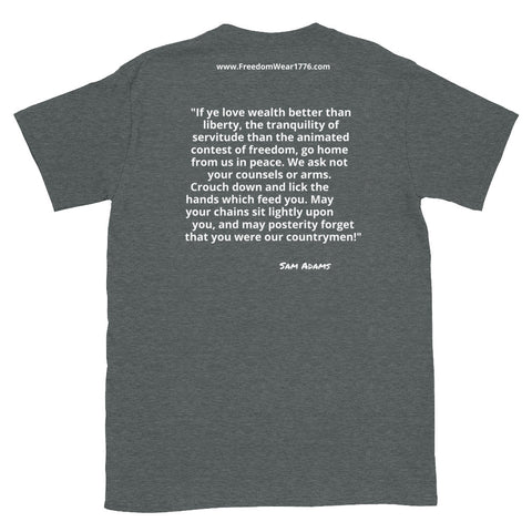 Image of I Do Not Consent V2 Tee Shirt-Tee Shirt-Freedom Wear 1776