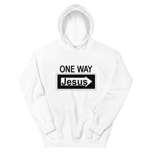 One Way Jesus Hoodie-Freedom Wear 1776