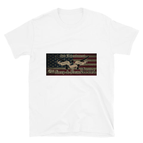 Image of Second Amendment Moaon Aabe Tee Shirt-Tee Shirt-Freedom Wear 1776