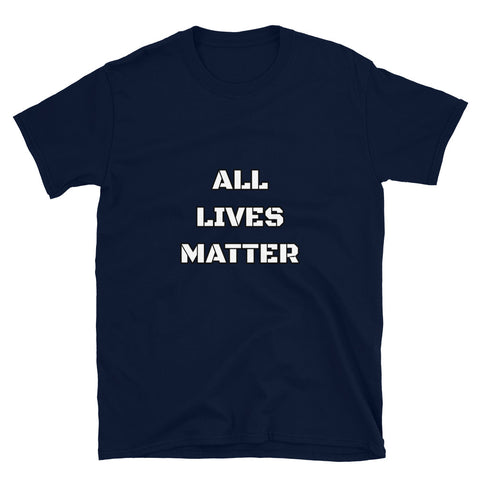 Image of All Lives Matter Tee Shirt-Tee Shirt-Freedom Wear 1776