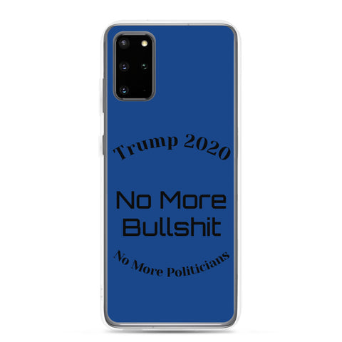 Image of Trump No More Bullshit Blue Samsung Case-Samsung Case-Freedom Wear 1776