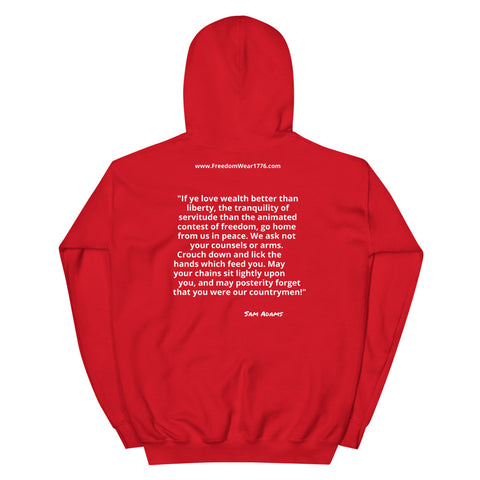 Image of I Do Not Consent V2 Hoodie-Hoodie-Freedom Wear 1776