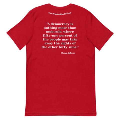 Democratic Socialism Tee Shirt-Tee Shirt-Freedom Wear 1776