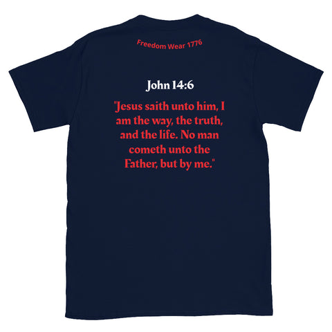 Image of Jesus K-L Tee Shirt-Tee Shirt-Freedom Wear 1776
