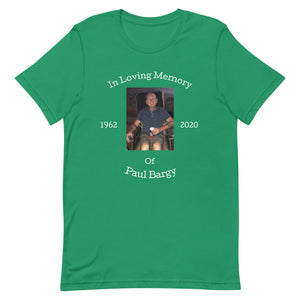 Paul Bargy Celebration Of Life-Tee Shirt-Freedom Wear 1776