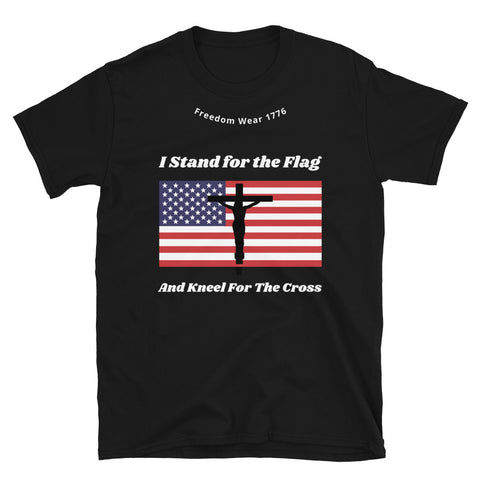 Stand For The Flag Tee Shirt-Tee Shirt-Freedom Wear 1776