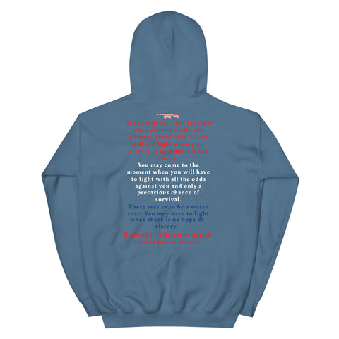 Image of 1st 2nd Amendment Hoodie-Hoodie-Freedom Wear 1776