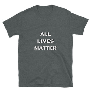 All Lives Matter Tee Shirt-Tee Shirt-Freedom Wear 1776