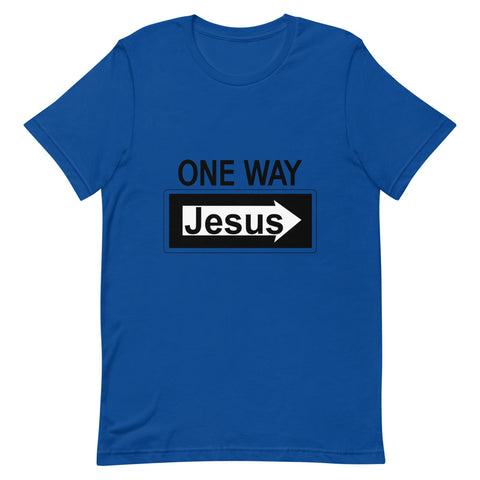 Image of One Way Jesus Tee Shirt-Tee Shirt-Freedom Wear 1776