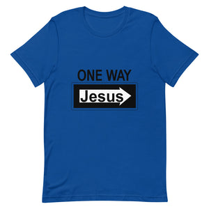 One Way Jesus Tee Shirt-Tee Shirt-Freedom Wear 1776