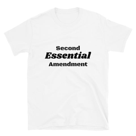 Image of Essential Second Amendment Tee Shirt-Tee Shirt-Freedom Wear 1776