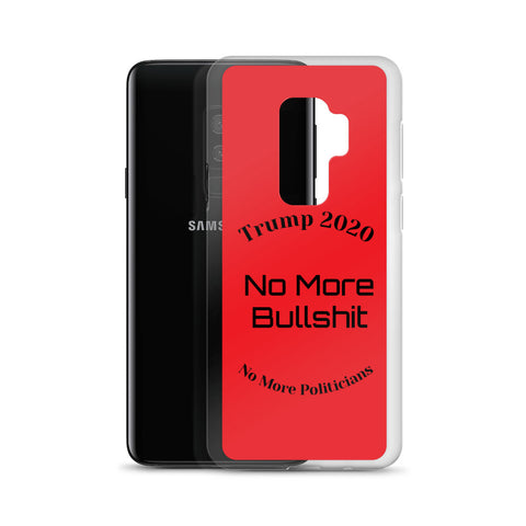 Image of Trump No More Bullshit Red Samsung Case-Samsung Case-Freedom Wear 1776