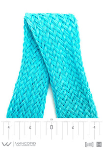 CHEVRON TUBULAR COMPOSITE BRAID | LARGE | 40 MM | 1.6 IN