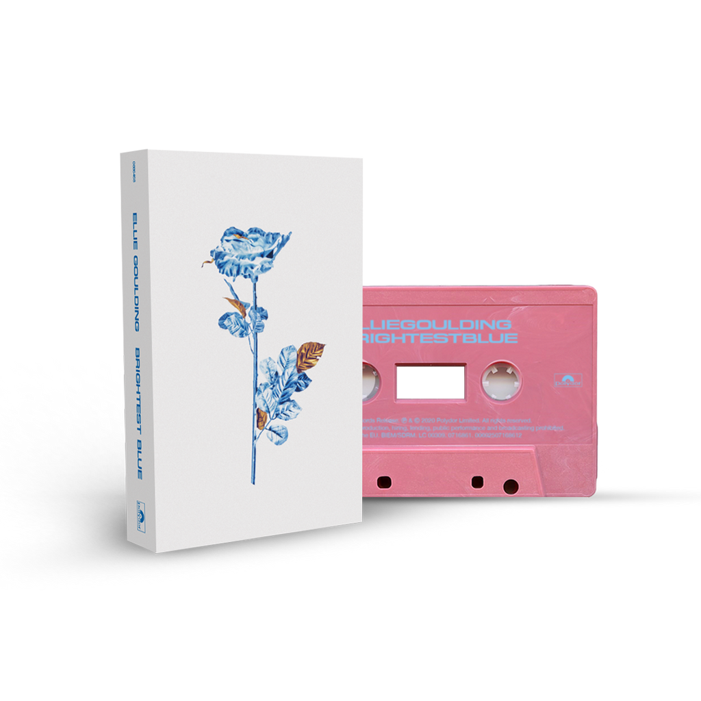 'BRIGHTEST BLUE' PINK RECYCLED PLASTIC CASSETTE-Ellie Goulding
