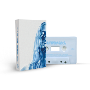 'BRIGHTEST BLUE' FROSTED ICE RECYCLED PLASTIC CASSETTE