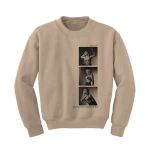 ELLIE GOULDING STACKED CREWNECK