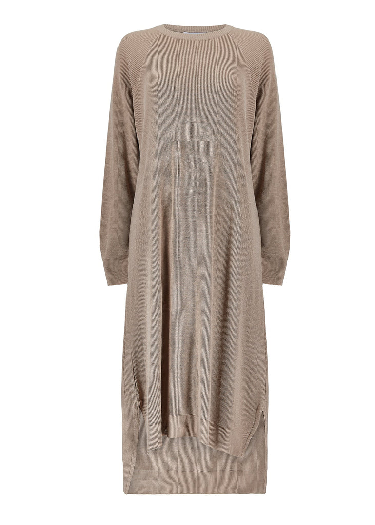 Belted Wrap Midi Olive   Aab Modest Wear - AAB INT