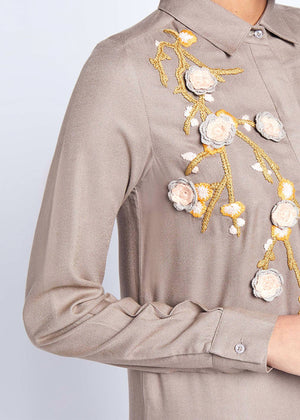 Fall Flowers Shared Abaya Aab