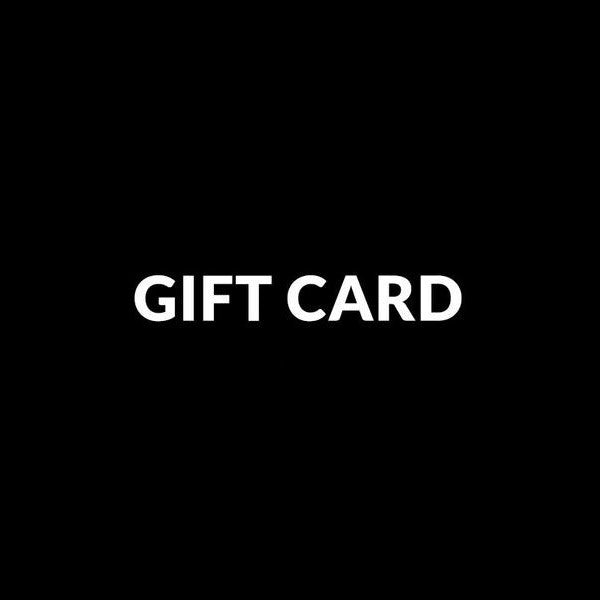 GIFT CARD - BRAVEMAN LEATHER GOODS