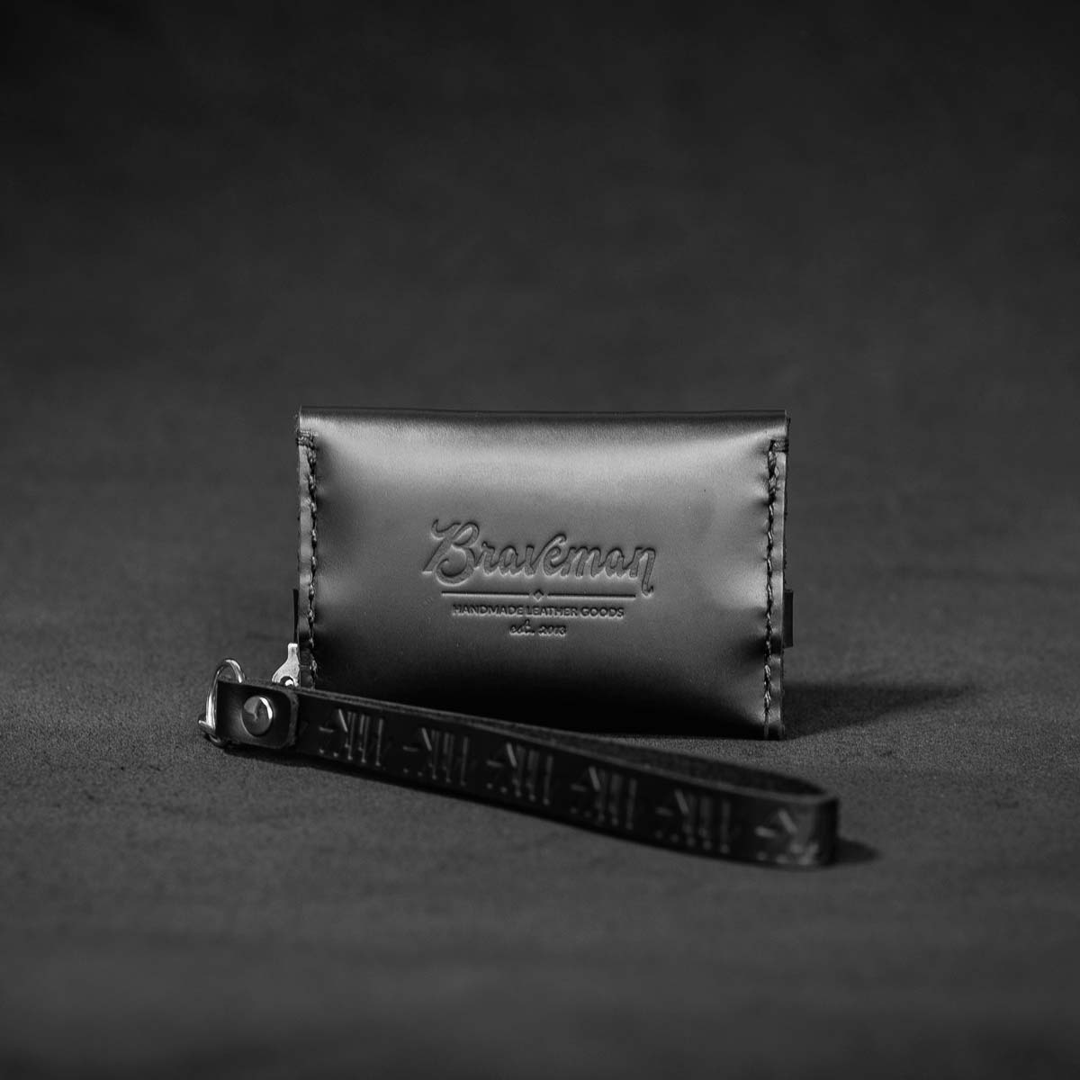 + Carteira Single Pocket Silver - SKULL x BRAVEMAN - BRAVEMAN LEATHER GOODS