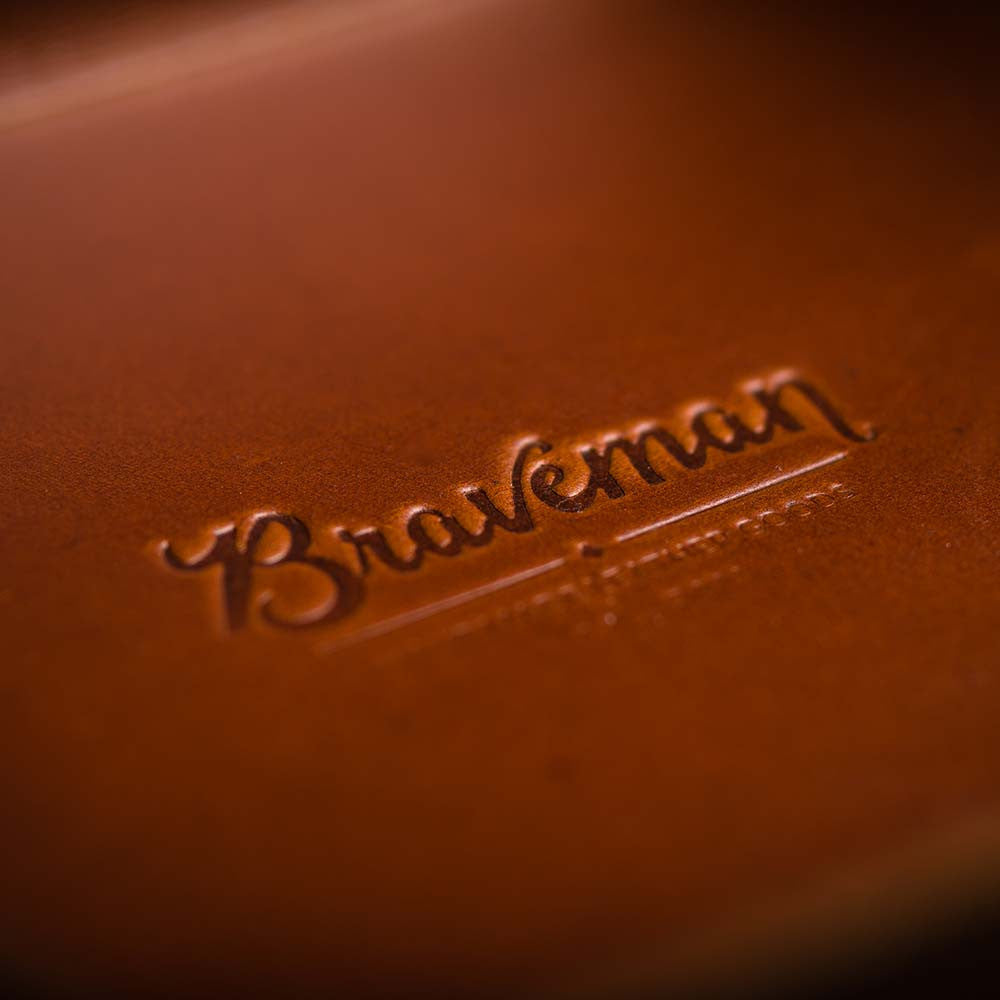 EDC Table Tray - T-BROWN II - BRAVEMAN LEATHER GOODS