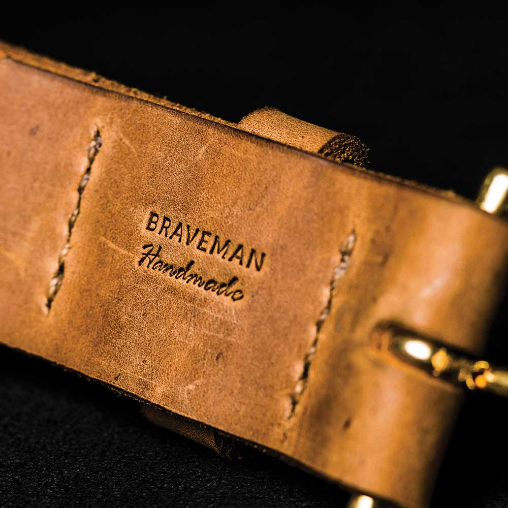 Cinto BRAVEMAN - Garage - BRAVEMAN LEATHER GOODS