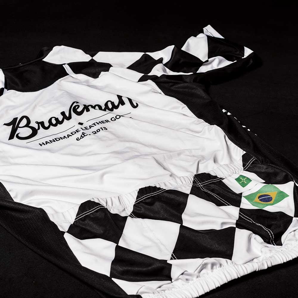 Cycling Jersey - Camisa de Ciclismo - BRAVEMAN LEATHER GOODS